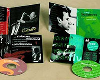 Jazz CD packages