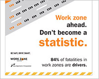 2015 Work Zone Awareness collateral (version 2)